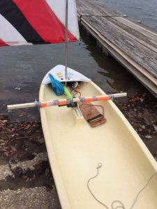 Motorizing a Sunfish    | SailingForums com