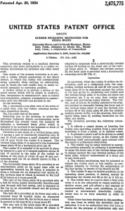 Alcort Rudder Releasing Mechanism Patent page 2.png
