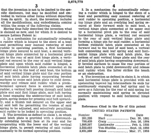 Alcort Rudder Releasing Mechanism Patent page 3.png